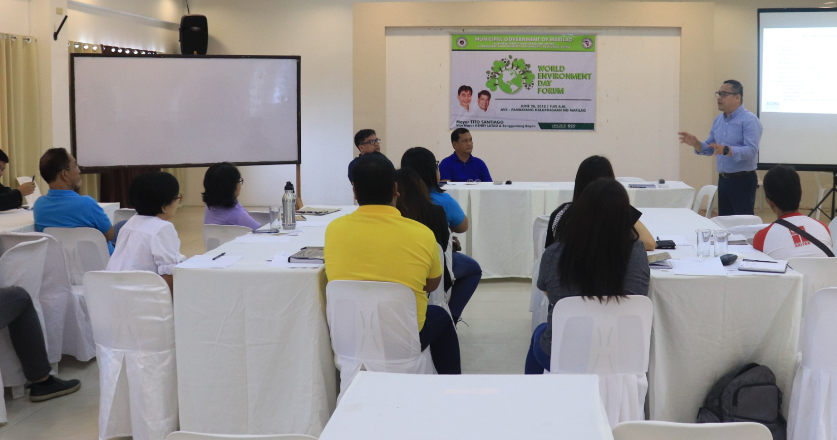 KALIKASAN: Environment Day Forum sa Marilao, Idinaos