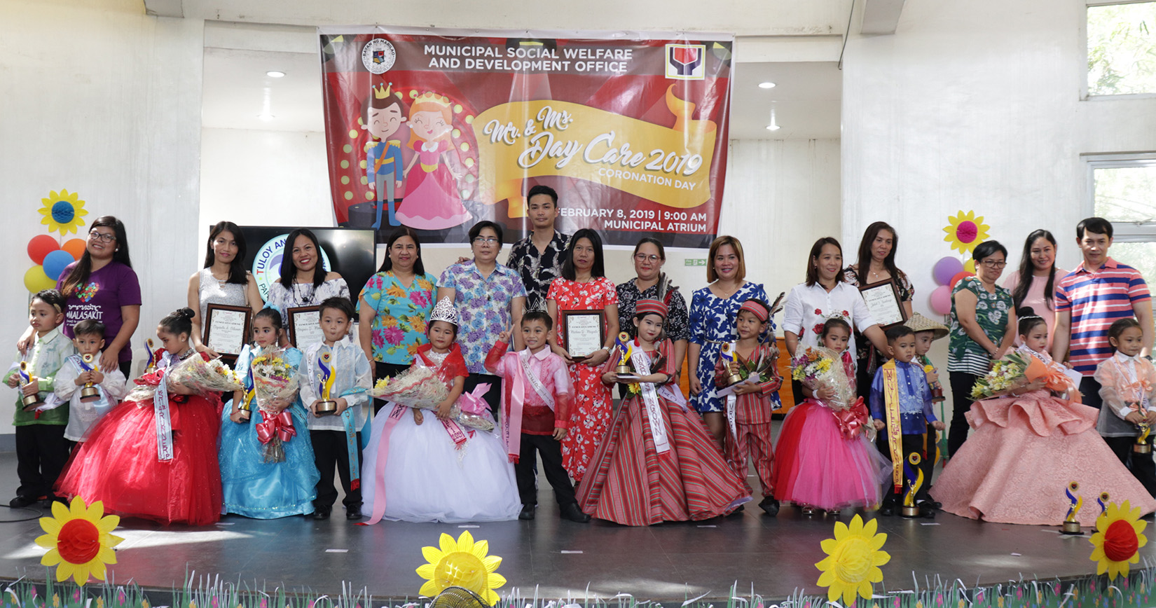 Daycare pupils mula Loma De Gato, wagi bilang Mr. and Ms. Daycare Marilao.